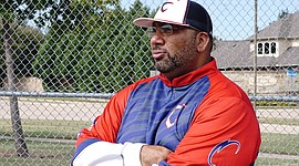 Former professional baseball star Omar Washington, leads Citius USA, one of the foremost minority youth baseball academies in the nation. -- Photo from Omar Washington