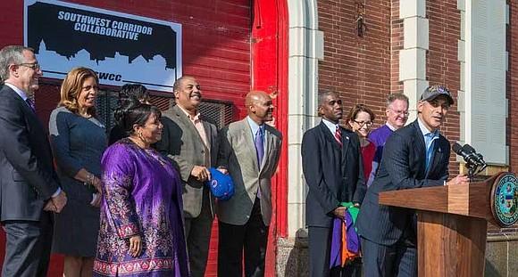 Mayor Rahm Emanuel and LISC Chicago, in partnership with the Greater Auburn Gresham Development Corporation (GAGDC), Southwest Organizing Project (SWOP) ...