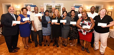 The MECU Foundation presented $35,000 to CollegeBound Foundation, nine Baltimore partner schools, and Credit Union for Kids, at a reception ...