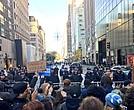 Anti-Trump protest rally in New York