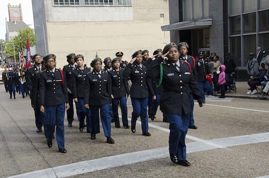Veterans Day Parade. (Photo: Warren Roseborough)