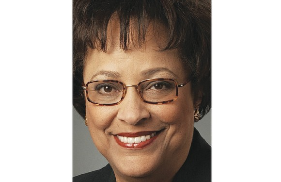 As a black female Republican, Kay Coles James sits in contrast to the images of white men who often are ...