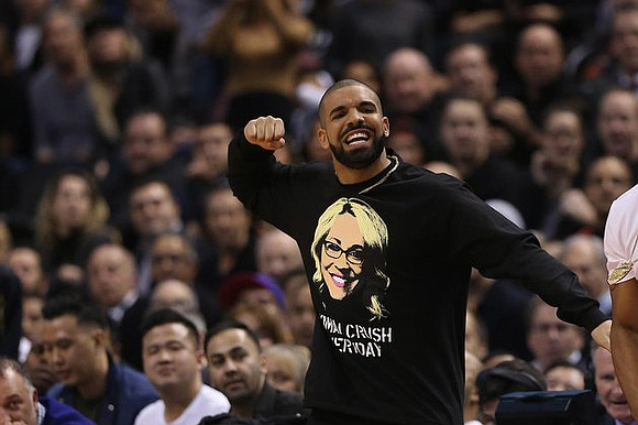 """Drake Night"" Wednesday at the NBA game between the host Toronto Raptors and the Golden State Warriors was, unsurprisingly, all ..."