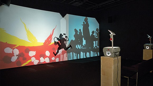Renowned contemporary artist Kara Walker is known for elegant, provocative murals that employ hand-cut stencils to render the persistent legacy ...