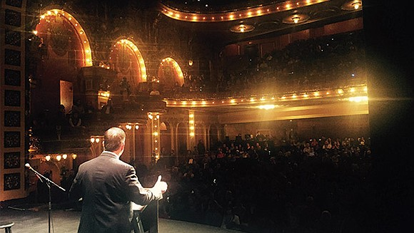 The Cutler Majestic Theatre was at full capacity on Saturday morning with students, educators, elected officials, community organizers and other ...