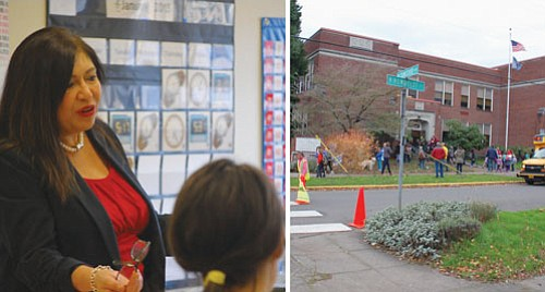 Portland School Board Member Julie Esparza Brown has rallied and won support for a new school district policy to affirm ...