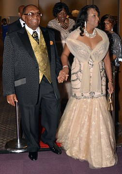 Grand entrance…
