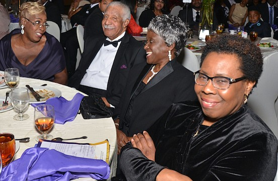 Well-wishers were plentiful…