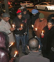 The community gathers in Queens to remember Sean Bell who killed by the NYPD in 2006