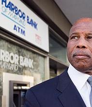 Harbor Bank president, CEO and chairman, Joseph Haskins Jr.