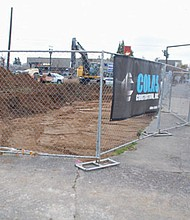 Colas Construction, an African-American and family-owned business, starts construction  on the long vacant corner of Northeast Alberta Street and Martin Luther King Jr. Boulevard, the future home of a Natural Grocers market and a second building to provide retail space for local, minority-owned businesses.