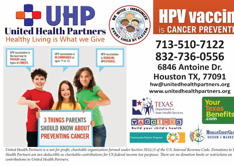 United Health Partners to Offer Affordable HPV Vaccine in ...