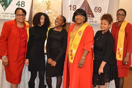 The National Sorority of Phi Delta Kappa, Inc. Eta Chapter, Camden, NJ recently hosted scholarship luncheon at Auletto's Caterers in ...