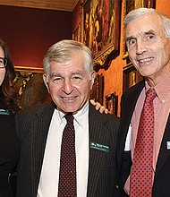 Committee member Linda Edmonds Turner, ENC advocates Leo Swift and Amy Auerbach, and ENC board member Martin Hall.