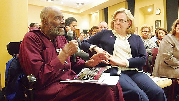 """Former state Rep. Mel King reprinted his 1981 book """"Chain of Change"""" with a new epilogue written by members of ..."""