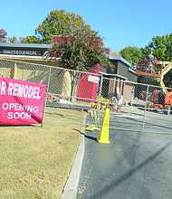 The Wendy's restaurant on Candler Road is expected to reopen Dec. 12. It is the third fast-food restaurant to be updated recently within a half-mile radius.