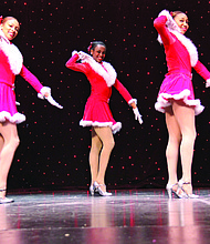 The Broadway-style production at the Porter Sanford Performing Arts and Community Center features music, dance and performing arts with holiday classics.