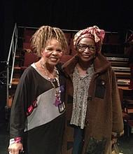 Ntozake Shange  and Michele Wallace