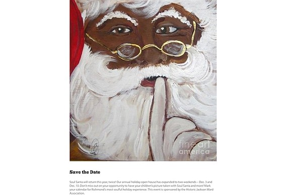Soul Santa is returning to Richmond at the Black History Museum and Cultural Center of Virginia.