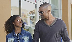 """Nadja Alaya (left) and Shemar Moore star in """"The Bounce Back."""""""