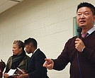 Superintendent Tommy Chang broke the news last month that the Mattahunt had dropped to Level 4-receiver status and the district hoped to close the facility and reopen it as an early learning center. At a meeting at the school, he told parents and community members the proposal was a way to keep the school out of state control.
