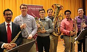 Marquee Brass features five virtuoso musicians – all Peabody graduate students
