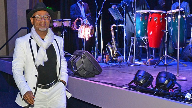 Kirk Whalum received Handy Award recognition during the 20th Anniversary of the W. C. Handy Heritage Awards at the Guest House at Graceland on Nov. 13.