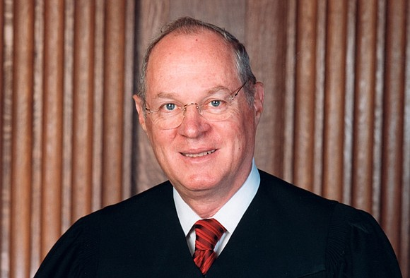 U.S. Supreme Court Justice Anthony Kennedy appears to hold the decisive vote in two cases involving challenges from African-American voters ...