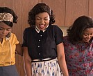 "Stars of ""Hidden Figures"": (L to R) Janelle Monae, Taraji P. Henson and Octavia Spencer"