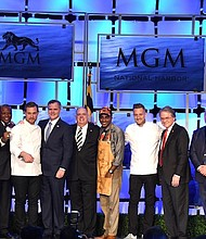 The MGM National Harbor casino resort in Prince George's County, Maryland, officially opened for business on Dec. 8.