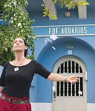 """Actress Sonia Braga fights greedy developers who want to demolition her apartment building in the new Brazilian film, """"Aquarius."""""""