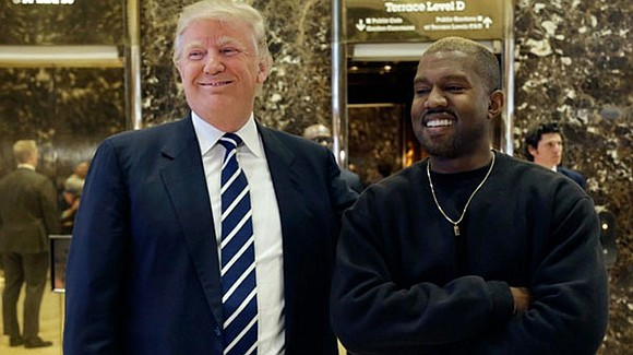 Kanye West met with President-elect Donald Trump on Tuesday, after he was spotted arriving at Trump Tower in New York ...