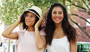 Sisters Zeena and Letisha Brown, co-founders of Brown & Coconut.