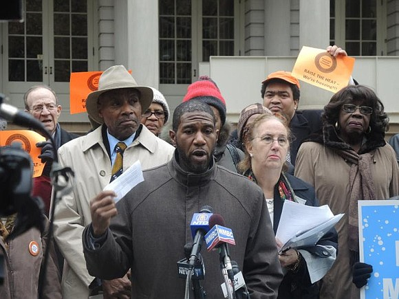 On Monday, Council Member Jumaane D. Williams held a rally on the steps of City Hall calling for the Administration ...