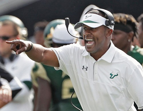 Willie Taggart, the new coach for the Oregon Ducks, says he has a goal to become the first black coach ...