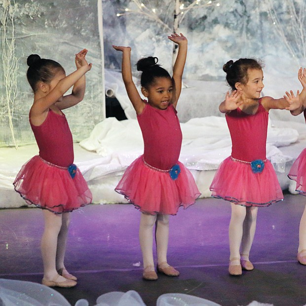 Budding ballerinas //
