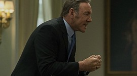 "Kevin Spacey appears in season 3 of Netflix's ""House of Cards."" The latest season of the online only series debued on Feb. 27, 2015."