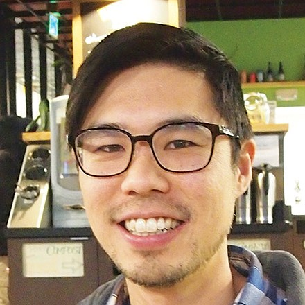 I want to see just cause eviction, policies to support co-ops, and the Boston Resident Jobs Policy pass so people can stay in their homes and find employment. — Aaron Tanaka, Activist, Roxbury