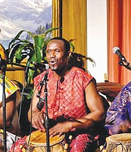 The Okropong African Dance and Drum group will entertain during a Kwanzaa celebration, Monday, Dec. 26 at the Matt Dishman Community Center.