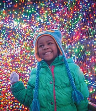 More than 1.6 million brightly colored lights transform the Oregon Zoo into a walk-through winter wonderland during ZooLights, the annual holiday light display now running through New Year's Day, Jan. 1.