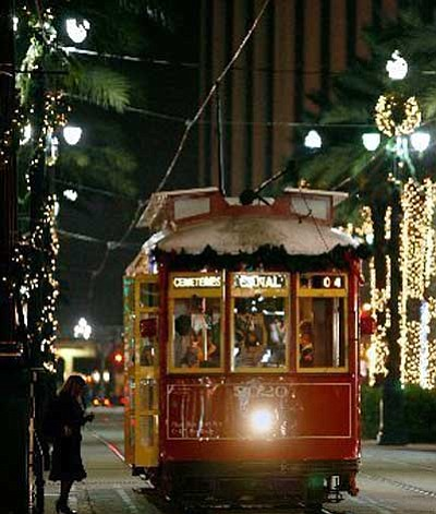 While in other parts of the country people are singing Christmas Carols in the traditional way; in New Orleans, the ...