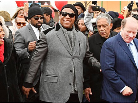 A Detroit roadway has been renamed for Motown legend Stevie Wonder. The award-winning singer and songwriter attended a Wednesday ceremony ...