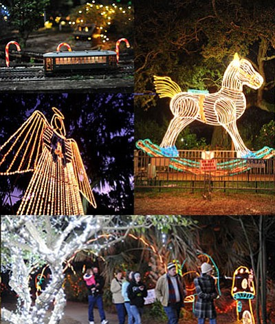 Celebration in the Oaks now a trademark for families has turned 30 this year. The annual holiday light display in ...