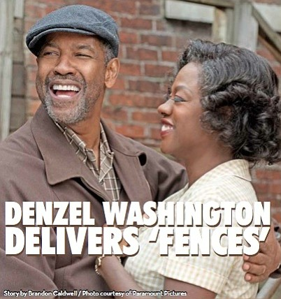 "The heart of Denzel Washington in ""Fences"" is that he's complicated, but when he is not? For the past four ..."