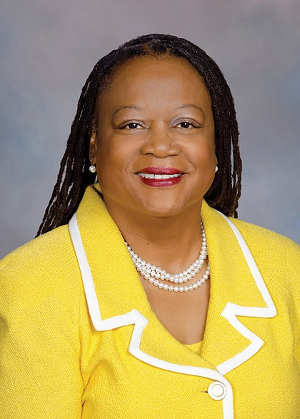 Mamie E. Locke, state senator from Hampton and chair of the Virginia Legislative Black Caucus: