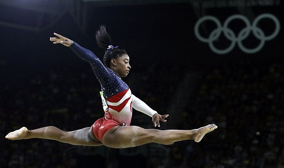 With a record-tying four golds in gymnastics in the 2016 Rio Olympics, Simone Biles has secured the title of Associated ...