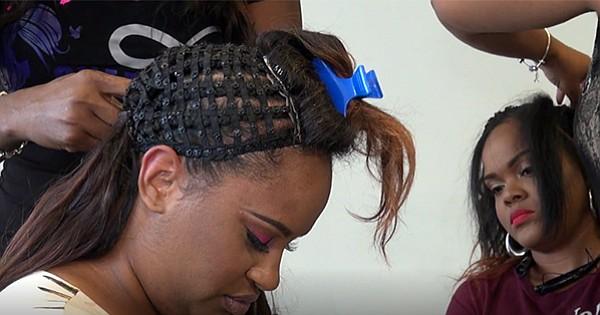 Remarkable Black Hairstylist Turned Entrepreneur Creates Snap Weave An Short Hairstyles Gunalazisus