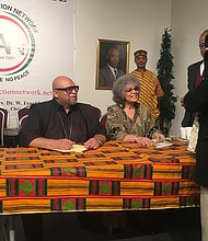 Dr. Maulana Karenga at the National Action Network