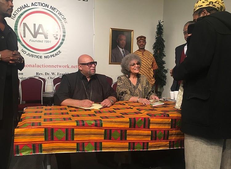 maulana karenga and kwanzaa s 50th anniversary celebrated in harlem