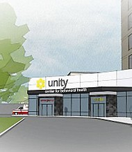 The Unity Center for Behavioral Health will be located on Legacy Health's Holladay Park campus in northeast Portland.